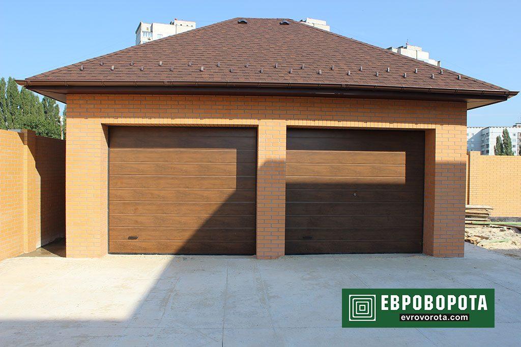 Секционные ворота на гараж
