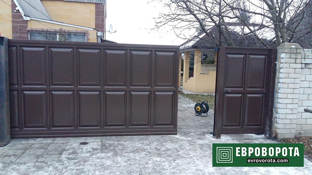 ворота шоколадка-4