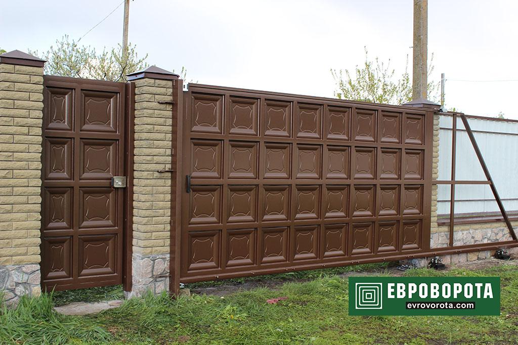 ворота шоколадка-6