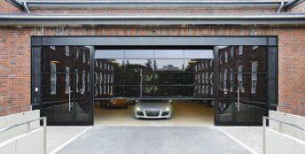 ворота под фасад
